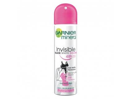 215 2 garnier mineral invisible black white deospray woman 150 ml