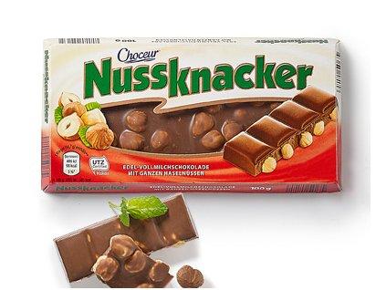 858 choceur nussknacker mlecna cokolada s liskovymi orechy 100g
