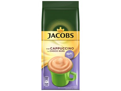 Jacobs Milka čokoládové Cappuccino s lískooříškovou příchutí 500g