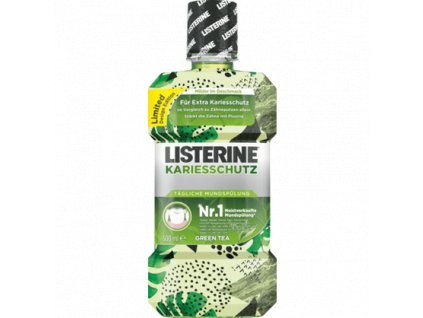 LISTERINE Ústní voda Kariesschutz Green Tea 500 ml