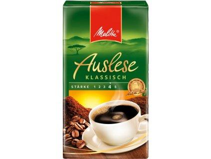 Melitta Auslese Klassisch mletá káva 500 g