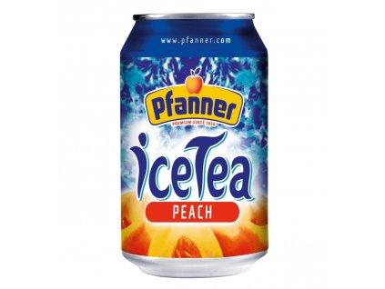 Pfanner Eistee ledový čaj broskev 0,33l