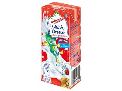 Tabaluga Jahodový mléčný nápoj 200 ml