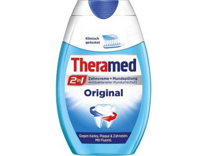 1057 2 theramed 2 in 1 original zubni pasta ustni voda 75 ml