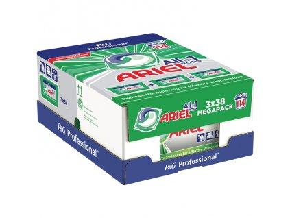 Ariel Professional MEGAPACK kapsle na praní Universal 3x38, 114 dávek