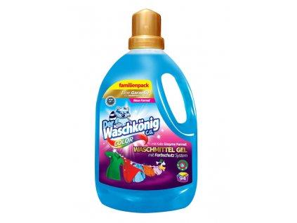 Waschkönig Color gel na praní barevného prádla 3,05 l (94 praní)