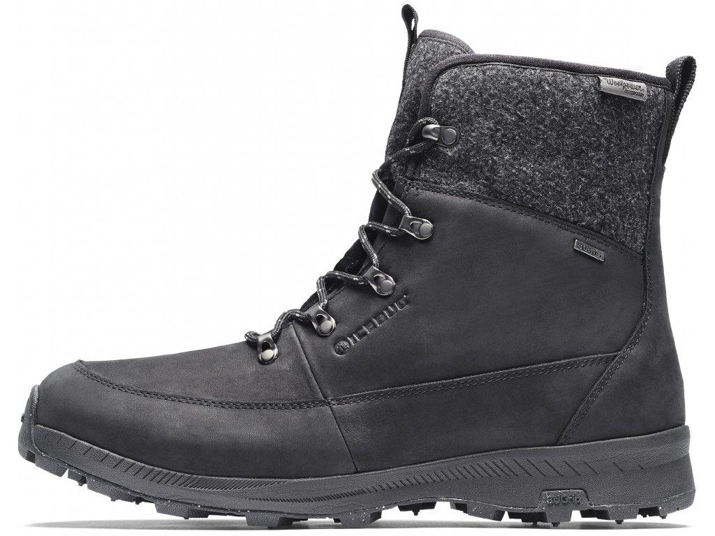 H41001 9A Adak M BUGrip Woolpower Black grey 1