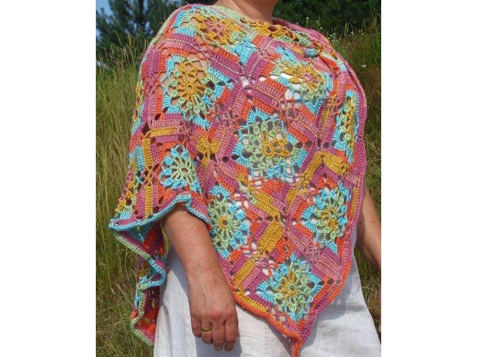 Háčkovaný šátek Summer