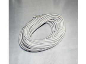 Pruženka bílá 4mm/1m