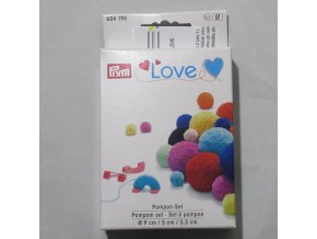 Bambulkovač sada 3 ks Prym Love