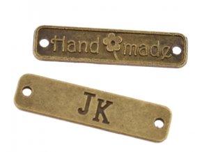 Cedulky Hand Made kov