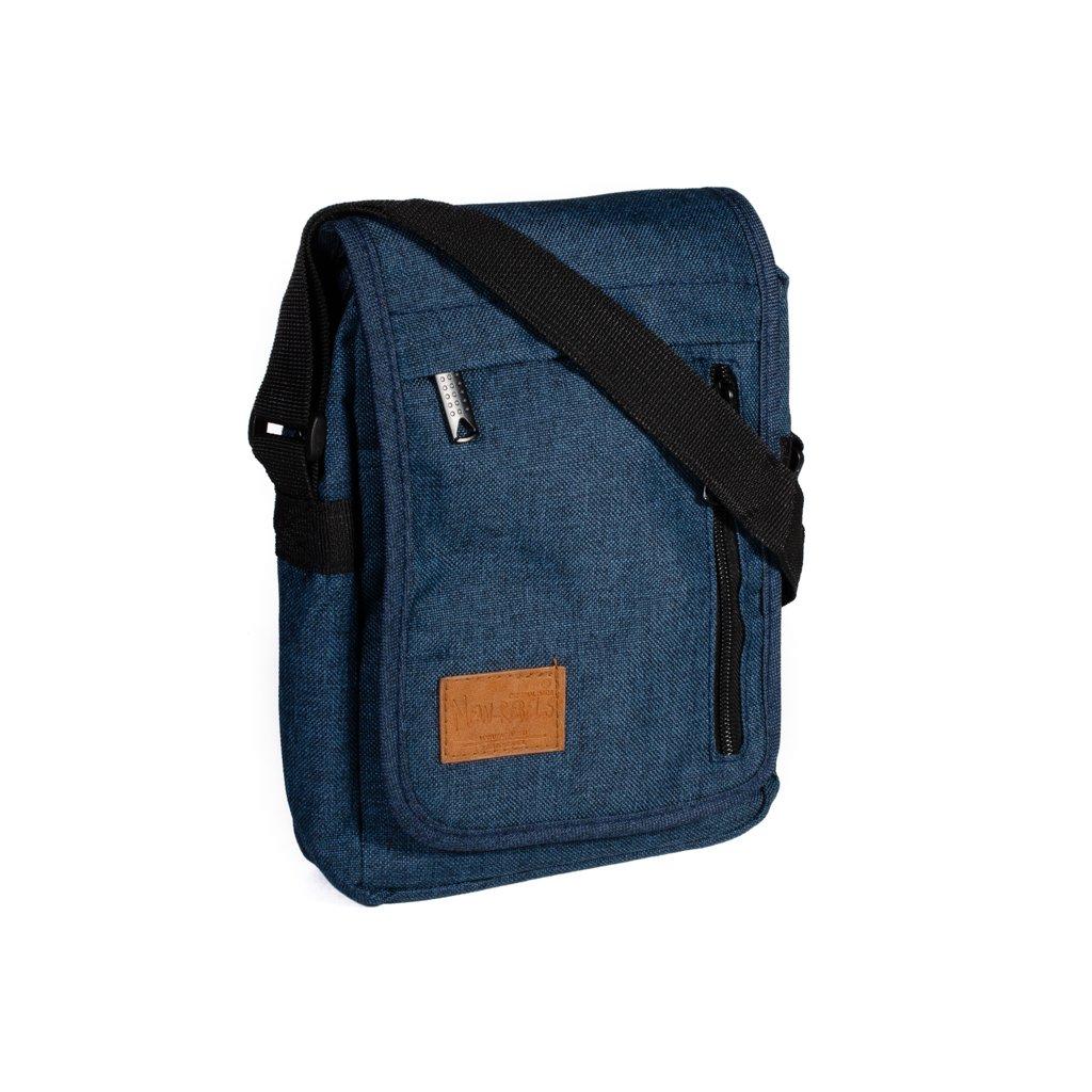 Nylonová taška přes rameno New Rebels Heaven modrá