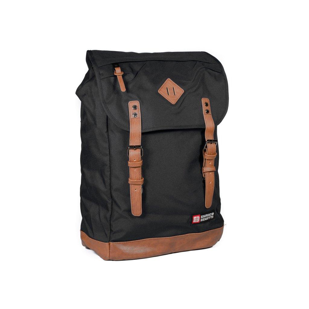 Stylový městský batoh Enrico Benetti 54427 černý