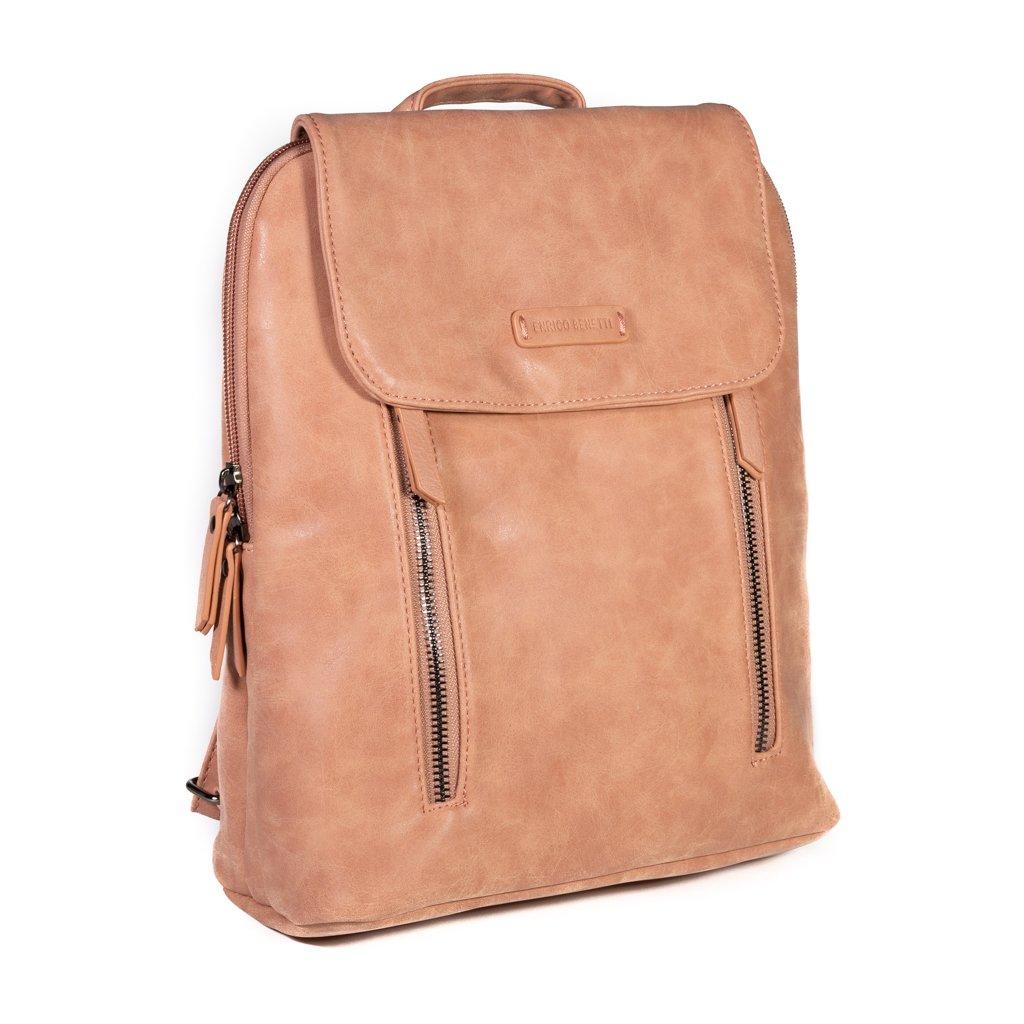 Dámský batoh do města Enrico Benetti Nouméa - růžový