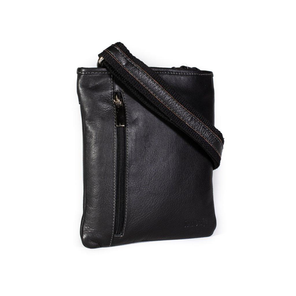 Pánská kožená dokladovka SendiDesign 715 černá