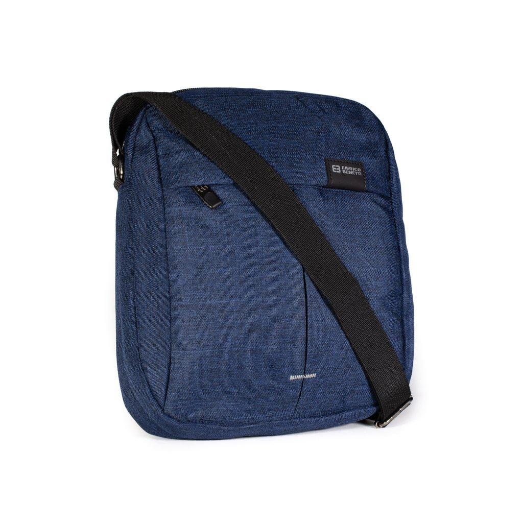 Pánská taška přes rameno Enrico Benetti 47168 modrá