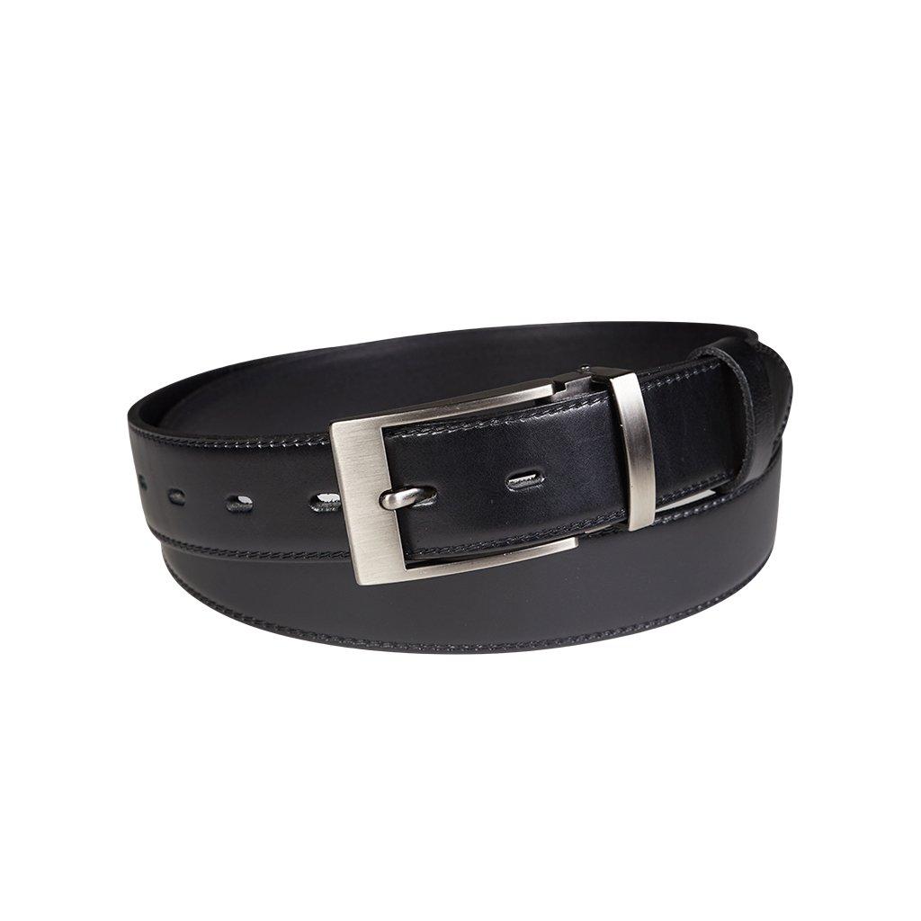 Pánský kožený opasek Penny Belts Christophe černý