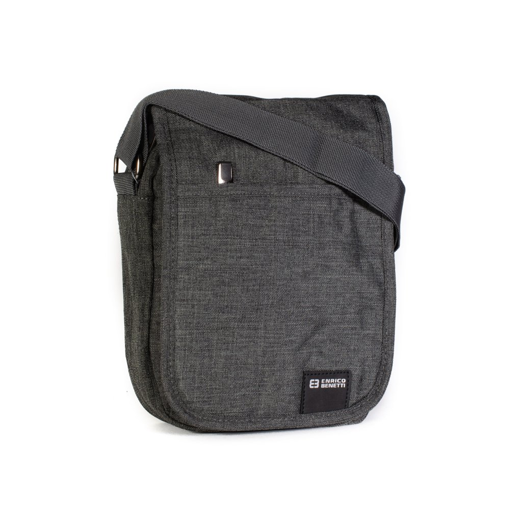 Pánská taška přes rameno Enrico Benetti 47172 šedá