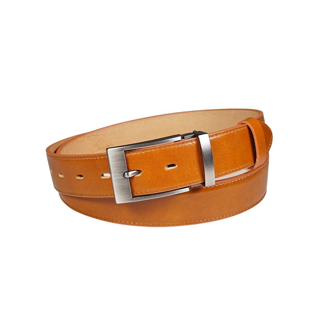 Pánský kožený opasek Penny Belts Christophe hnědý