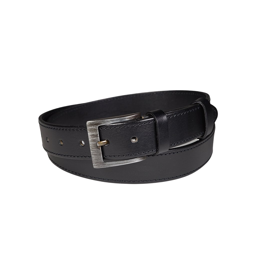 Pánský kožený opasek Penny Belts Nicolas černý