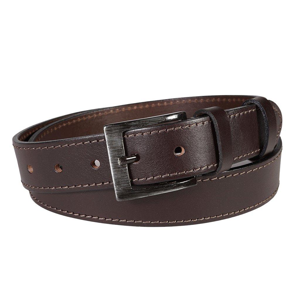 Pánský kožený opasek Penny Belts Nicolas hnědý