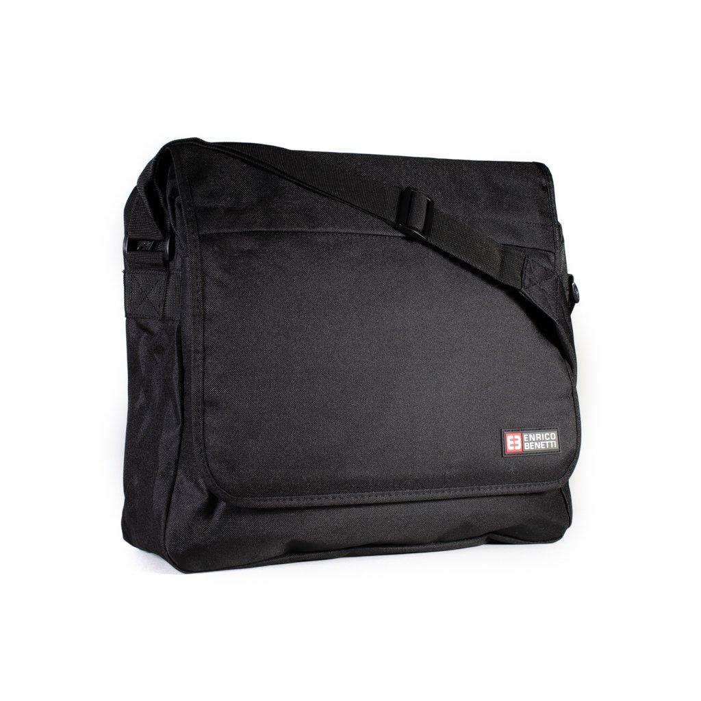 d2dce7038b Pánská taška na notebook 54122 černá - Baag.cz
