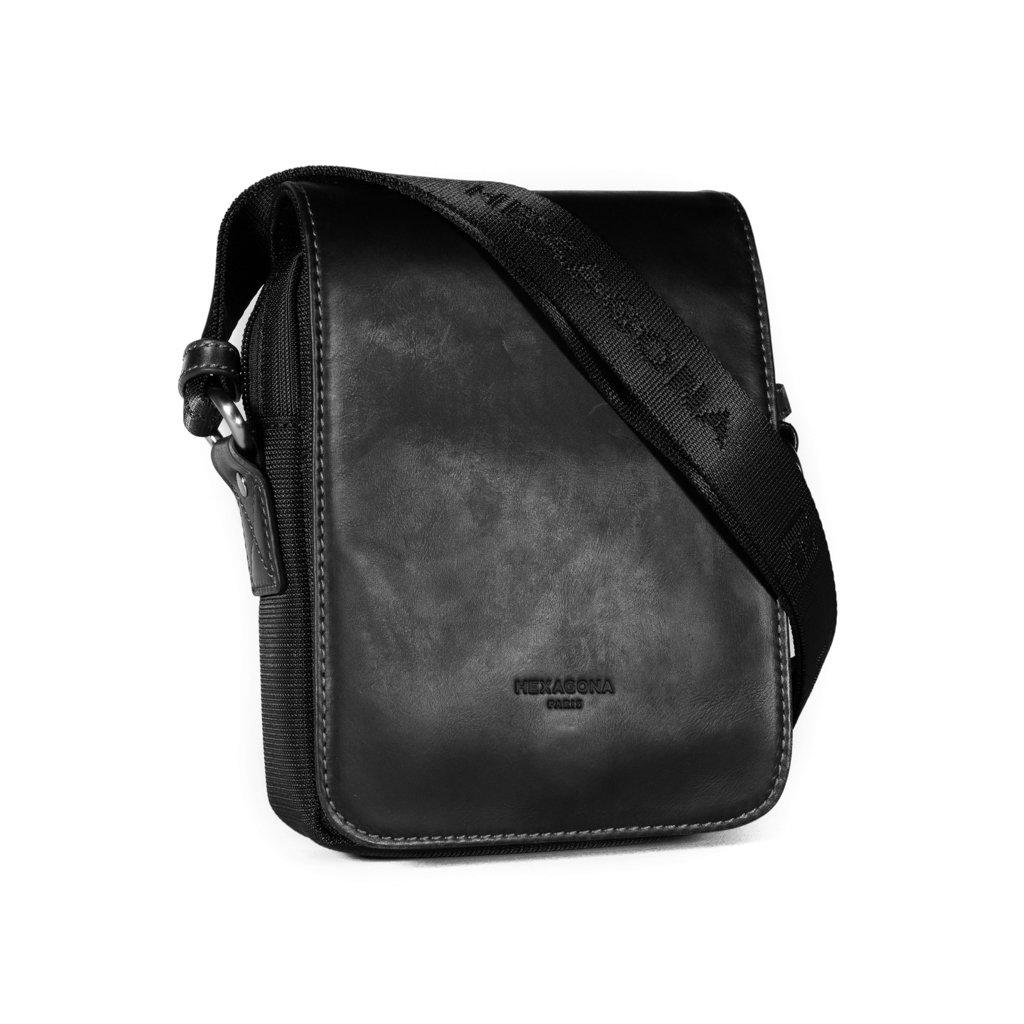 Pánská taška přes rameno Hexagona 299164 černá