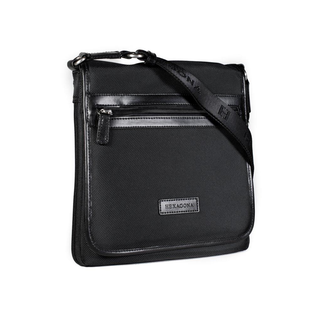Pánská taška přes rameno Hexagona D72248 černá