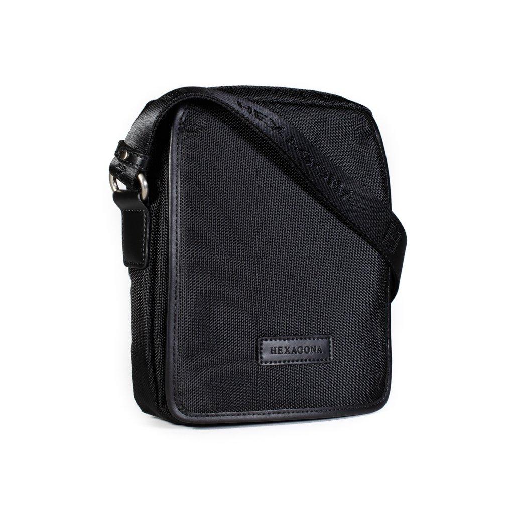 Pánská taška crossbody Hexagona D72283 černá
