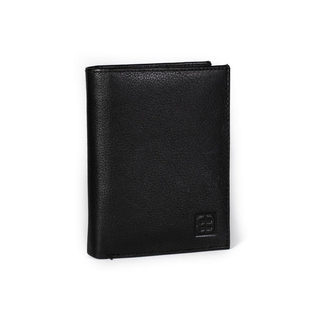 Pánská kožená peněženka Enrico Benetti 52209 černá