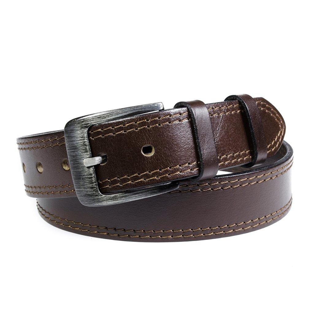 Pánský kožený opasek Penny Belts Giovanni hnědý