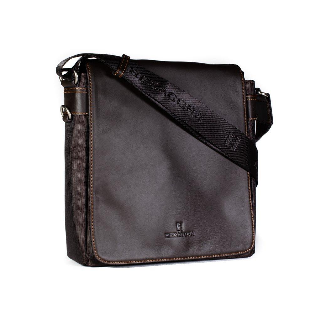 Pánská taška přes rameno Hexagona 299156 hnědá