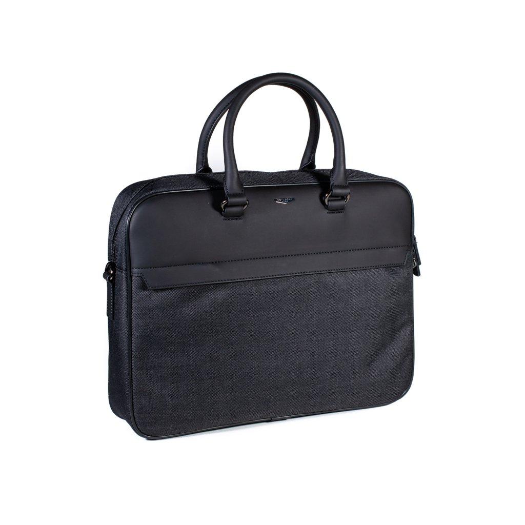 Pánská taška na notebook Hexagona 985749 šedo-černá