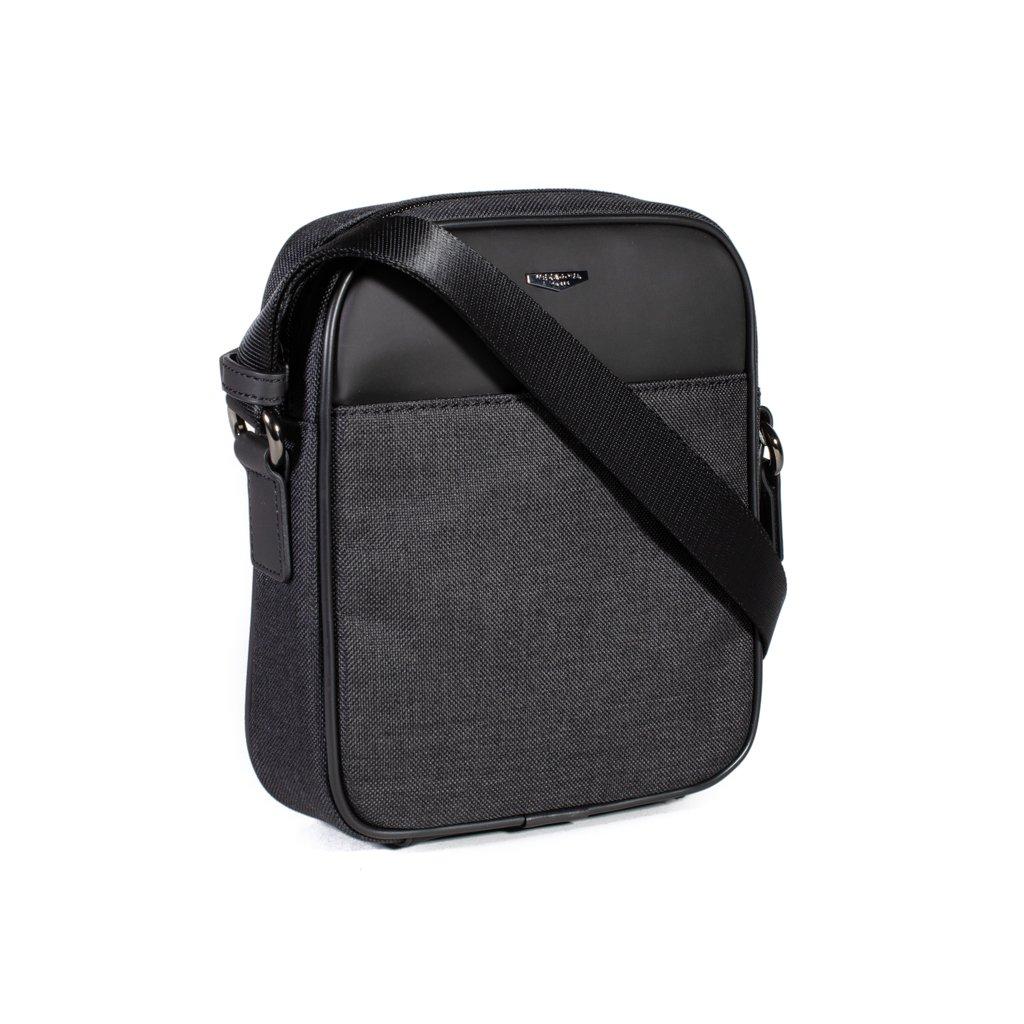 Pánská taška přes rameno Hexagona 985744 šedo černá