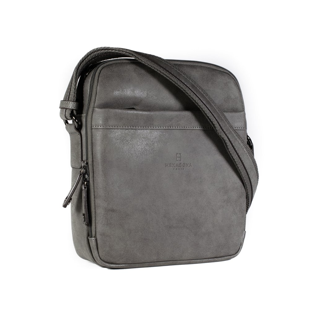 Pánská taška přes rameno Hexagona 784629 šedá