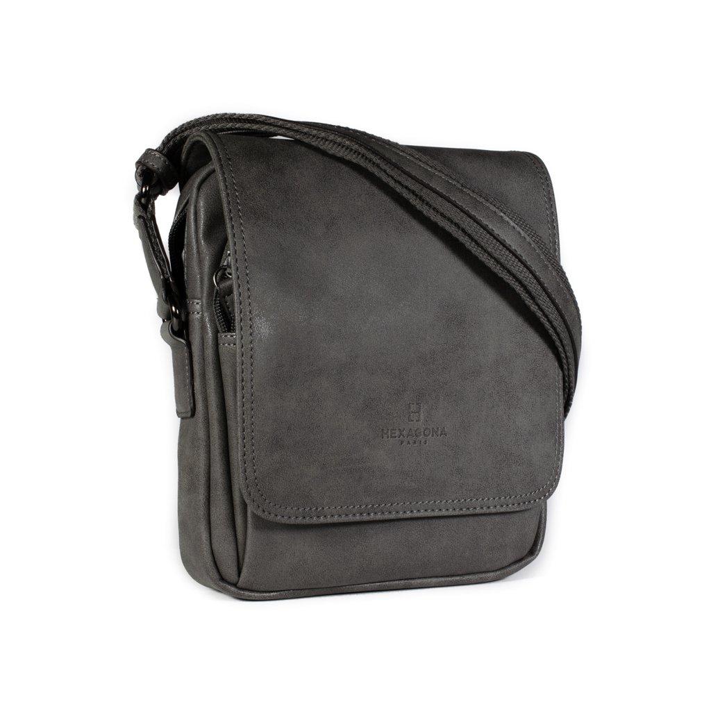 Pánská taška přes rameno Hexagona 784631 šedá
