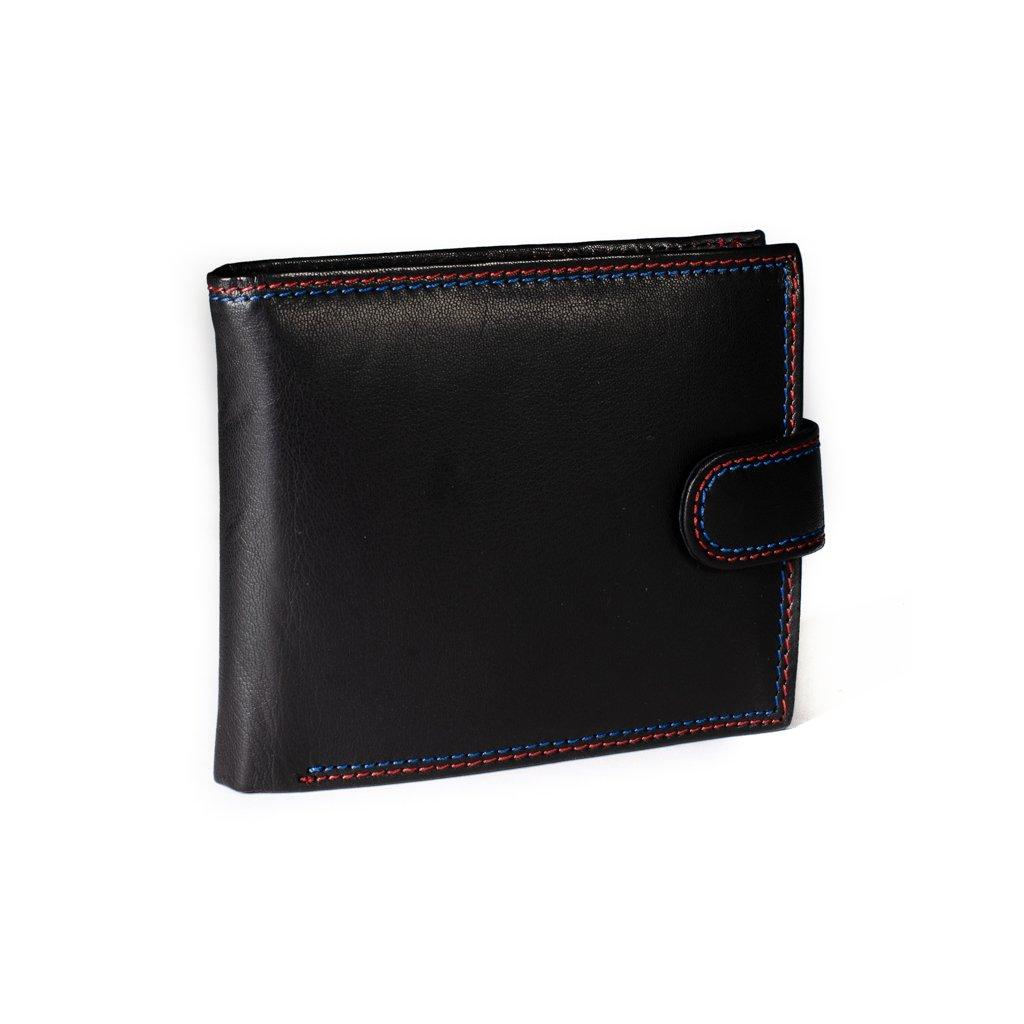 Kožená peněženka N992L-GSD černá