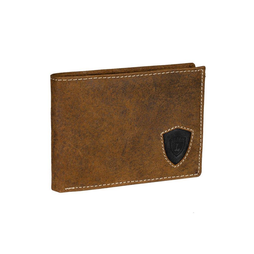 Kožená pánská peněženka Loren N992-STL hnědá
