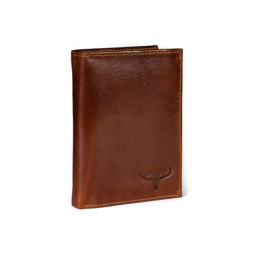 Pánská kožená peněženka Buffalo Wild D1072-VTU hnědá