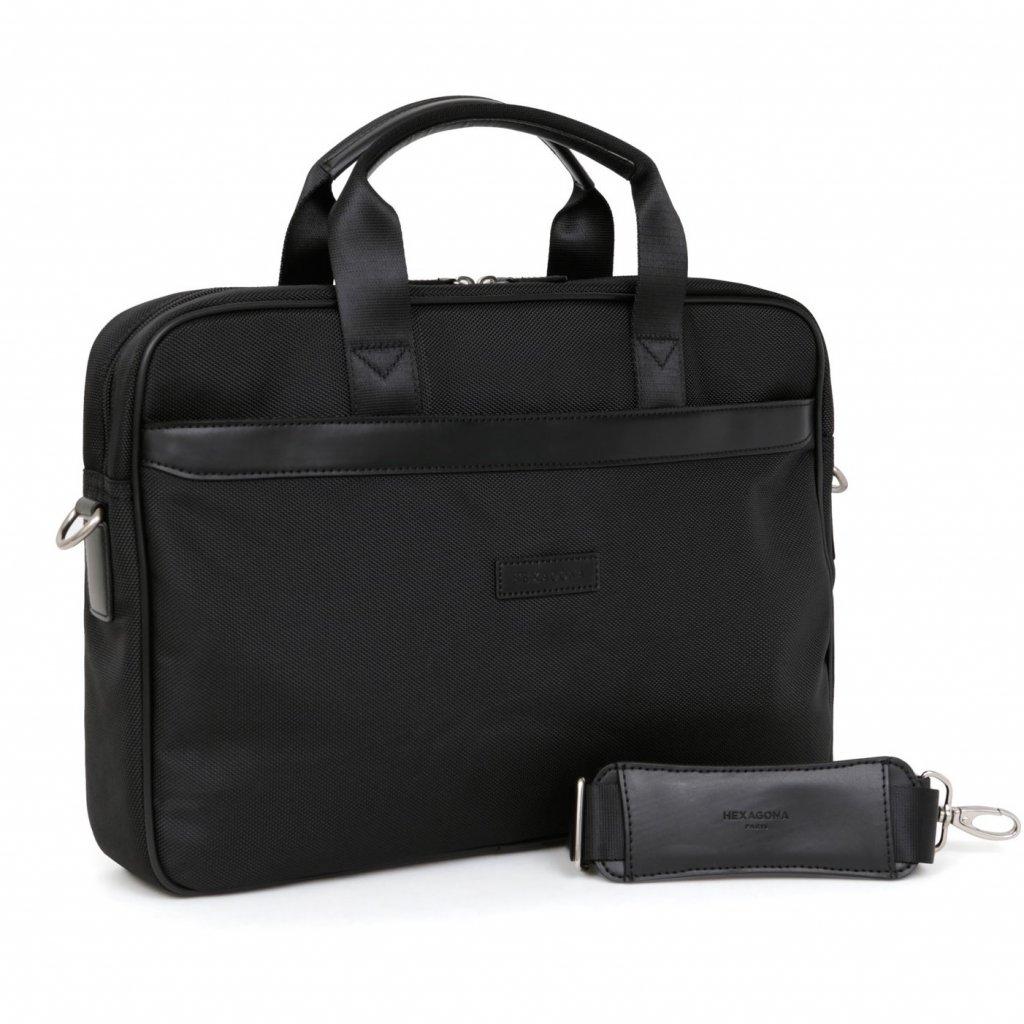 Pánská taška na notebook Hexagona D72495 černá