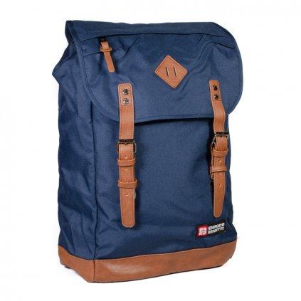 Stylový městský batoh Enrico Benetti 54427 modrý