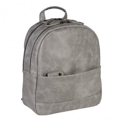 Menší dámský batůžek Frederica - šedý