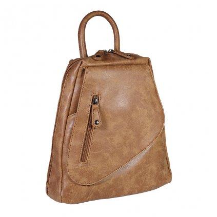 Dámský batůžek Isabele - hnědý