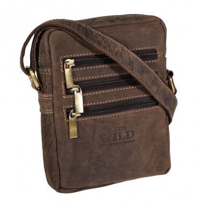 Pánská taška přes rameno Always Wild 250-MH hnědá