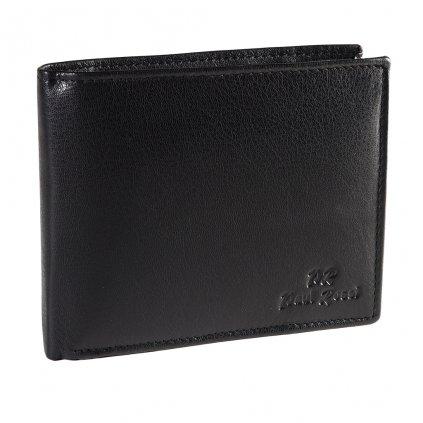 Kožená peněženka Paul Rossi N992-GTN-RFID černá