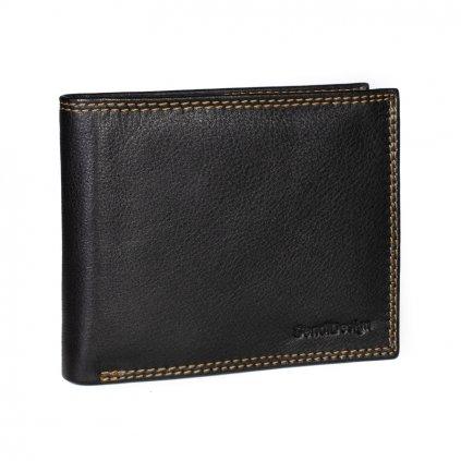 Pánská kožená peněženka SendiDesign D305 černá
