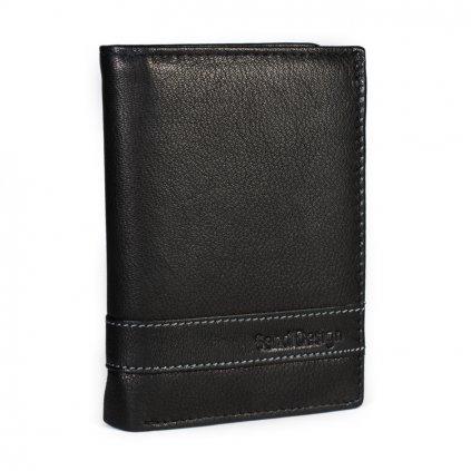 Pánská kožená peněženka SendiDesign 46 černá