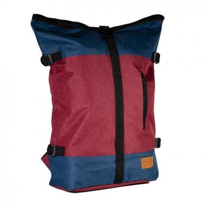 Pánský batoh New Rebels červeno modrý