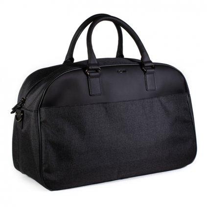 Luxusní cestovní taška Hexagona 985745 černo-šedá