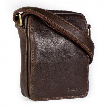 Pánská kožená taška přes rameno SendiDesign CT52006 hnědá
